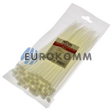 Стяжка нейлоновая PROFIX 200х5мм белая (100 шт.)
