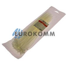 Стяжка нейлоновая PROFIX, 280х4мм, белая (100 шт.)