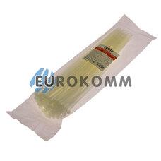 Стяжка нейлоновая PROFIX, 300х4мм, белая (100 шт.)