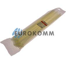 Стяжка нейлоновая PROFIX, 450х5мм, белая (100 шт.)