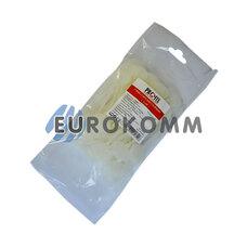 Стяжка с круглой табличкой PROFIX 100х3мм, белая (100шт.)