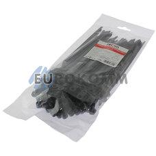 Стяжки кабельные PROFIX под шуруп 200х5мм, черные (100 шт.)