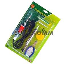Набор ZD-920С (паяльник+подставка+припой+оловоотсос+кусачки)