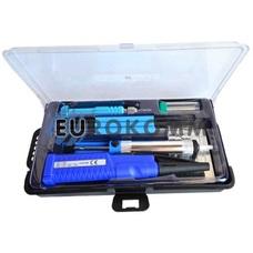 Набор ZD-972Е (паяльник 4,5V 8W+подставка+припой+отвертка+оловоотсос)