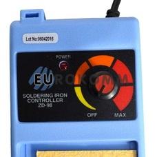 Набор ZD-9830C (паяльная станция ZD98+оловоотсос+припой+жала)