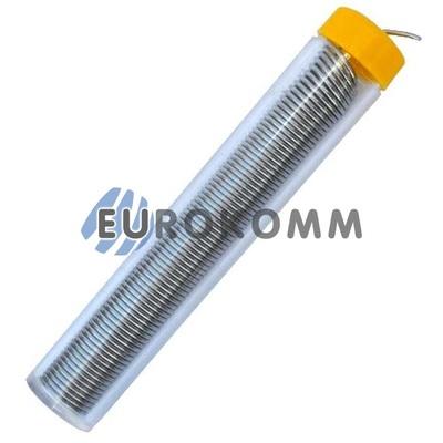 Припой оловянно-свинцовый ПОС-60 d-1мм, 25г, в колбе