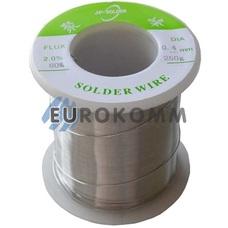 Припой оловянно-свинцовый ПОС-60 Jufeng (Ø0.4мм, 250г) на катушке