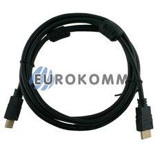 HDMI кабель (HDMI - HDMI, v1.4 с фильтрами, 2м)