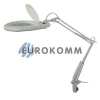 Лупа-лампа настольная с люминисцентной подсветкой, 5X кр. увеличение