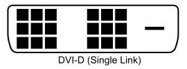 dvi-d кабель одинарный