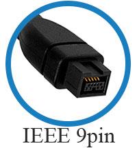 кабель IEEE 1394b 9 pin