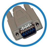 кабель null modem штекер