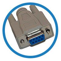 кабель null modem гнездо