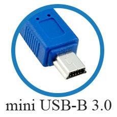 кабель mini USB-B 3.0
