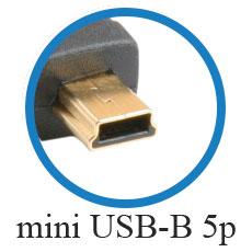 кабель mini USB-B 5p