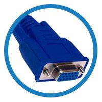 кабель VGA гнездо