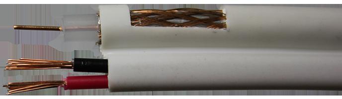 коаксиальный кабель комбинированный